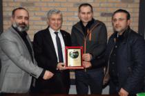 Akif Yener'den Başkan Genç'e anlamlı teşekkür