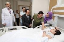 Vali Balkanlıoğlu'ndan Kök Hücre Nakli Bekleyen Sevde Melike Dural'a Destek