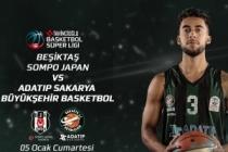 Büyükşehir Beşiktaş'a konuk oluyor