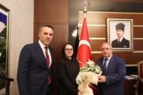 Ak Parti Yeni Yönetiminden Vali Nayir'e Ziyaret
