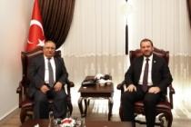 Milletvekili UNCUOĞLUve Merkez Valisi AL'dan Vali NAYİR'e ziyaret