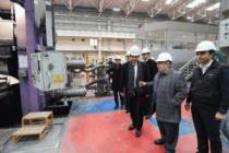Vali NAYİR ASAŞ Alüminyum Fabrikasında İncelemelerde Bulundu