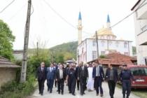 Vali Nayir Esentepe Kırcaali Mahalle Camii'ni (El Rayan Camii) Ziyaret Etti