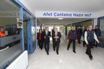 Vali Nayir'den AFAD İl Müdürlüğüne Ziyaret