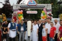 Alpedo'nun Dondurma Bahçesi resmen hizmete girdi