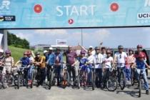 Bisiklet Vadisi'nde 'Sporda Birlikte Güçlüyüz' etkinliği