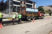 Karasu'da Yol Bakım Onarım Çalışmaları Devam Ediyor