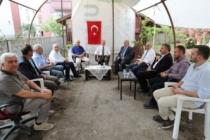 Vali Nayir Eskişehir Valisi Çakacak'a Taziye Ziyaretinde Bulundu