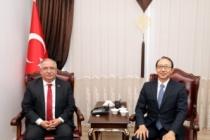 Japonya İstanbul Başkonsolosundan Vali Nayir'e Ziyaret