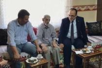 106 yaşındaki Muzaffer GEZER'e bayram ziyareti