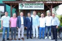 Burak'tan Nalbant'a hayırlı olsun ziyareti