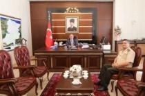Askerlik Şubesi Başkanı Albay Tek'ten Vali Nayir'e Ziyaret