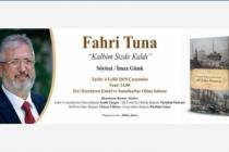Fahri Tuna'ya söyleşi imza günü