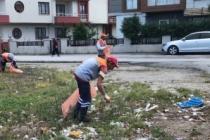Karasu'da Temizlik Çalışmaları Devam Ediyor