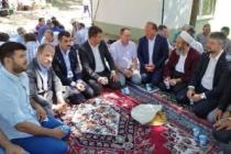 MHP Teşkilatı Şehitler için okutulan Mevlid Programına katıldı