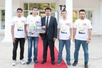 SABÜ Öğrencilerinin sualtı aracı teknofest'te