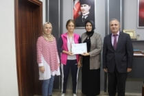 ŞFKY Ortaokulu öğrencisinden Türkiye derecesi