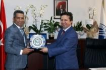 Başkan Burak Dekan Narbay'ı ziyaret etti