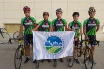 Bisiklet Takımı altyapıda ilk resmi yarışlarına çıktı