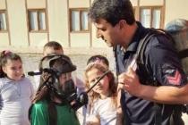 İtfaiye'den minik öğrencilere eğitim