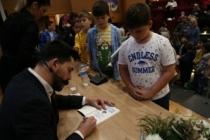 Türkiye Hafıza Şampiyonu SGM'li çocuklarla buluştu