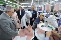 Vali Nayir Uğur Balkuv Triko Fabrikasında İncelemelerde Bulundu