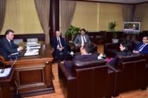 İlçe Milli Eğitim Müdüründen Başkan Sarı'ya Ziyaret