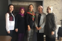 SYKD Kadın Kollarından Üyelere Ziyaret Turu