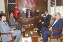 Taraklı Kaymakamı Abdullah Arslantürk'e Ziyaret