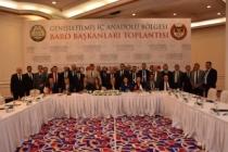 Başkan Burak Baro Başkanları Toplantısı'nda konuştu