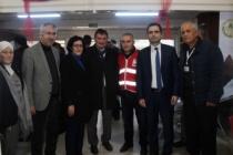 Ferizli'de kan bağışına yoğun ilgi