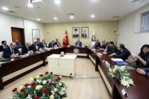 Havza Yönetim Heyeti Toplantısı İlimizde Gerçekleştirildi