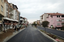 Karasu'da caddeler yeni yüzüne kavuştu