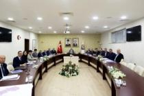 Vali Nayir DOMİOSB müteşebbis heyet toplantısına başkanlık etti