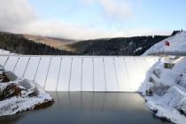 Akçay Baraj Gölü'nde seviye 25,5 metre