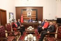 Başarılı Gençlerden Vali Nayir'e Özel Ziyaret