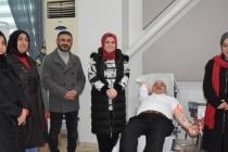 """Başkan Kılıç'tan """"Kan Ver Hayat Kurtar"""" Kampanyasına Destek"""