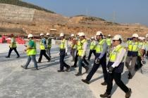 Nükleer Düzenleme Kurulu Üyeleri Akkuyu NGS Sahasını Ziyaret Etti
