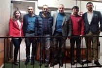 SEDAŞ yöneticileri ve saha çalışanları yeni yıla birlikte girdi