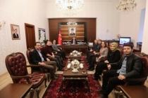 SESAM Heyeti Projelerini Vali Nayir İle Paylaştı