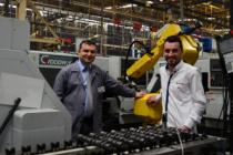 Sivas'ta 11 robot 34 makine aynı anda birbiriyle konuşuyor