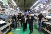 Vali Nayir Bu Hafta Toyota Boshoku Fabrikasını Gezdi