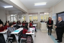 Vali Nayir'den Sakarya Anadolu Lisesine Ziyaret