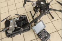 DJI Dronlar Koronavirüs'le Savaşıyor