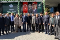 Gelecek Partisi Sakarya Heyeti İstanbul İl Başkanlığı açılışında bulundu