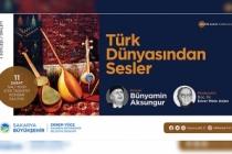 Ziya Taşkent'te Türk Dünyasından Sesler etkinliği