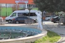 Arifiye Belediyesinden Dezenfekte Çalışmaları Tüm Hızıyla Sürüyor.