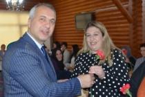 Başkan babaoğlu kadın personelleri unutmadı