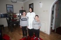 Durmuş'tan Berk Ailesine Öğrenci Ev Ziyareti