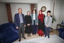 Durmuş'tan Eğitimci Şekercileroğlu Ailesine Ev Ziyareti